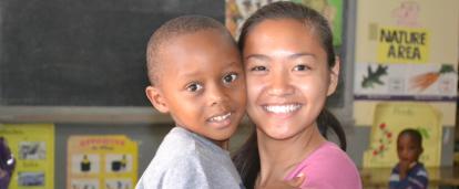 ジャマイカでチャイルド支援に取り組む日本人ボランティア